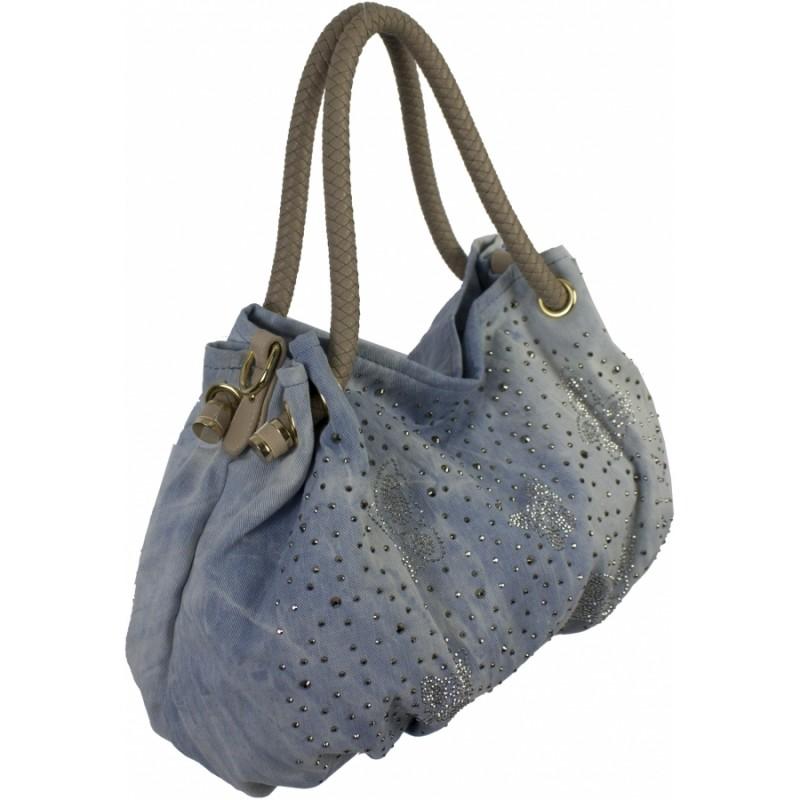 77123f7ba3c9 Купить джинсовую сумку №611-21 недорого в интернет магазине г ...