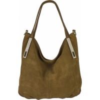 Женская замшевая сумка №24 замша