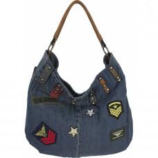 Джинсовая сумка №K8672