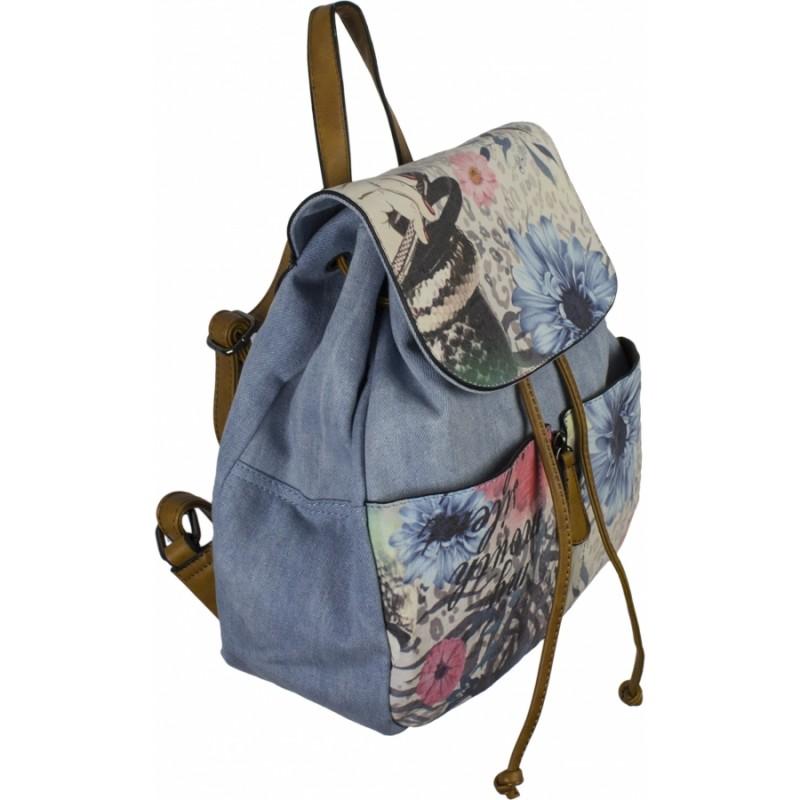 b050c152f482 Купить рюкзак джинсовый №8151-1 в интернет магазине, джинсовые сумки ...