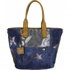 Джинсовая сумка №6153-1
