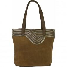 Женская замшевая сумка №C-9109 замша