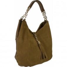 Женская замшевая сумка №6342 замша