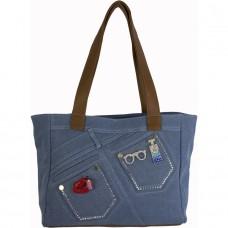 Джинсовая сумка №59586