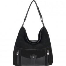 Женская сумка из замши и кожезаменителя №A-665 замша