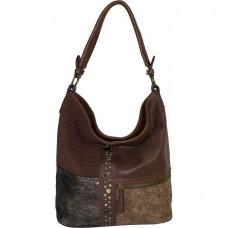 Женская сумка из кожзама №1260-2