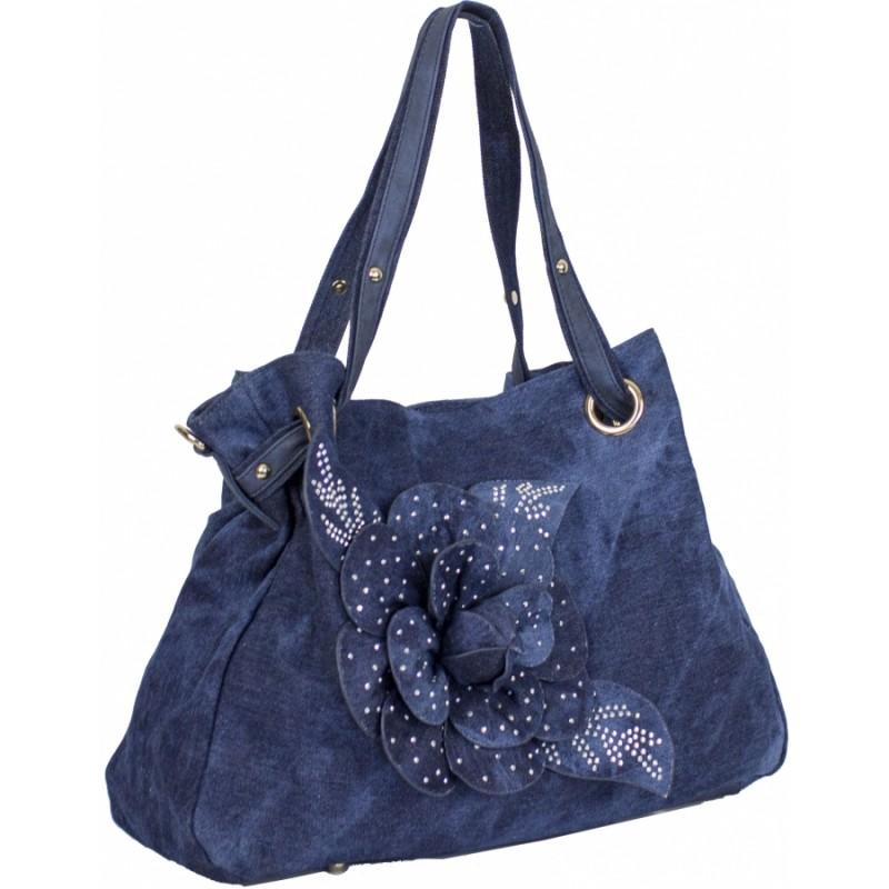 1a636e6bbefd Купить сумку из джинсовой ткани №8258-2 джинс недорого в интернет ...