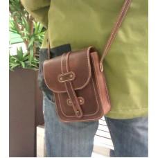 Кожаная сумка «Brown» №8680