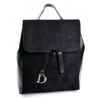 Рюкзак замшевый женский №0603-B