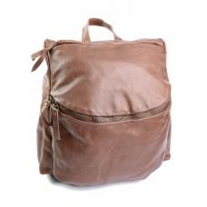 Кожаный женский рюкзак №16F167