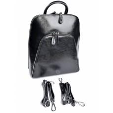 Кожаный женский рюкзак №511-1