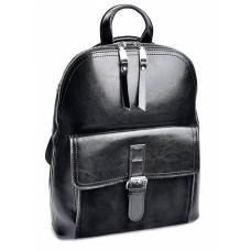 Рюкзак женский из натуральной кожи и замши №6009-1