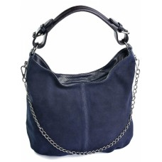 Замшевая женская сумка №7327-1
