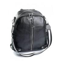 Кожаный женский рюкзак №856