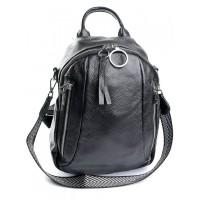 Кожаный рюкзак женский №857