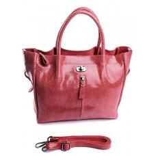 Кожаная сумка женская №8822