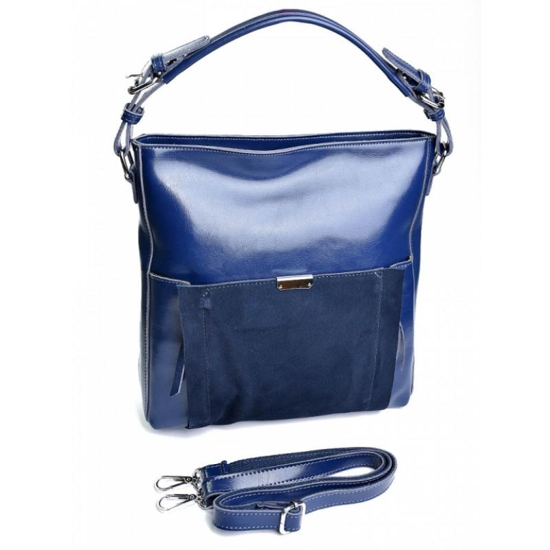 5ef0ff926836 Недорого купить сумку женскую кожаную с замшей №A6006-1 в интернет ...