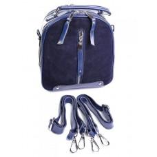 Женский рюкзак из натуральной кожи и замши №A6039-1