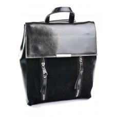 Замшевый рюкзак женский №A7101-1