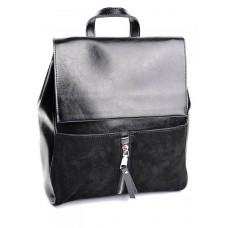 Рюкзак из кожи и замши №B6056