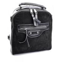 Замшевый рюкзак женский №B7055-5