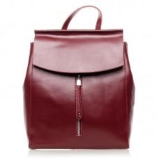 Кожаный женский рюкзак №3206n