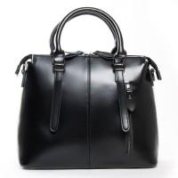 Классическая кожаная сумка с двумя ручками №330