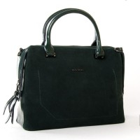 Женская замшевая сумка №8542-1