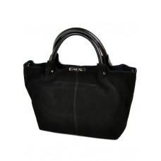 Женская сумка кожа-замш №8649-3