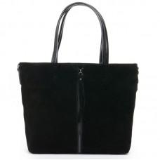 Женская сумка из натуральной замши №8704z