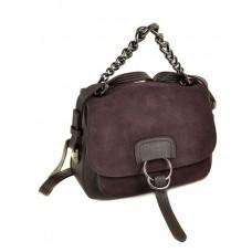 Женская сумочка замш-кожзам №9108-1