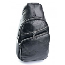 Кожаная сумка-слинг №3301