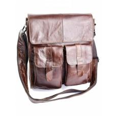 Кожаная мужская сумка №3696
