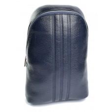 Кожаная мужская сумка-слинг №678