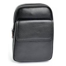 Муская кожаная сумка-слинг №683