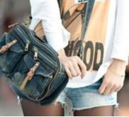 Купить джинсовую сумку недорого